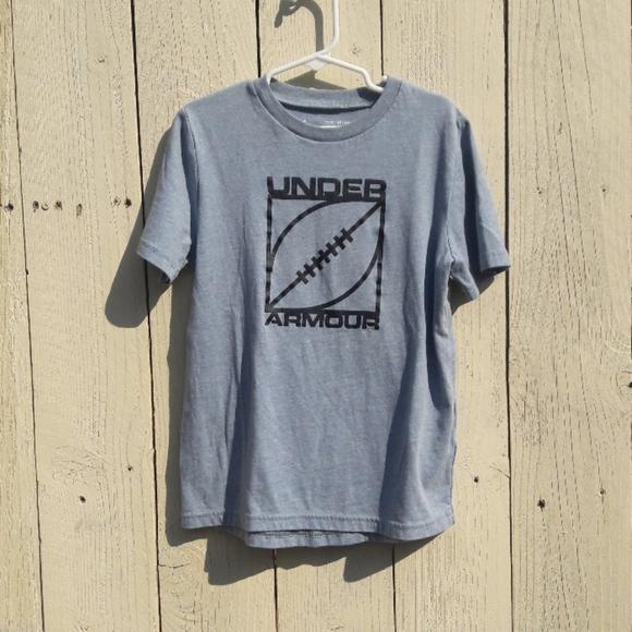 Under Armour Boy's Heat Gear Football T-shirt